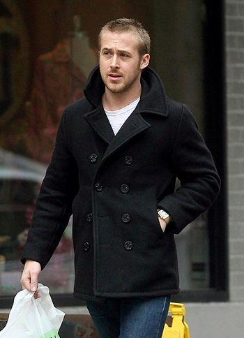 Guys in Pea Coats are Hott