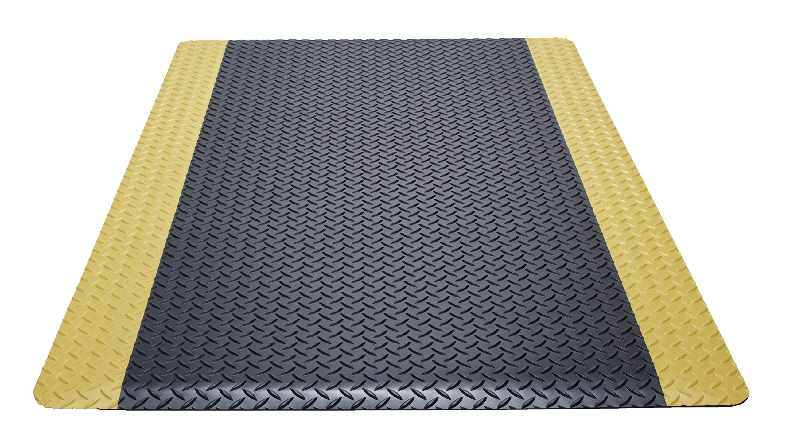 Guardian Safe Step Anti Fatigue Floor Mat Vinyl 3 X12 Blk Ylw For More Information Visi Anti Fatigue Flooring Fatigue Flooring Anti Fatigue Floor Mats