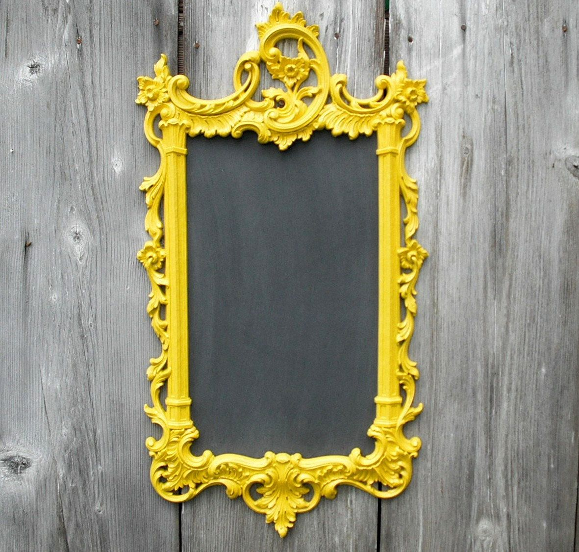 HOLLYWOOD REGENCY CHALKBOARD For Sale Vintage Decorative Ornate ...