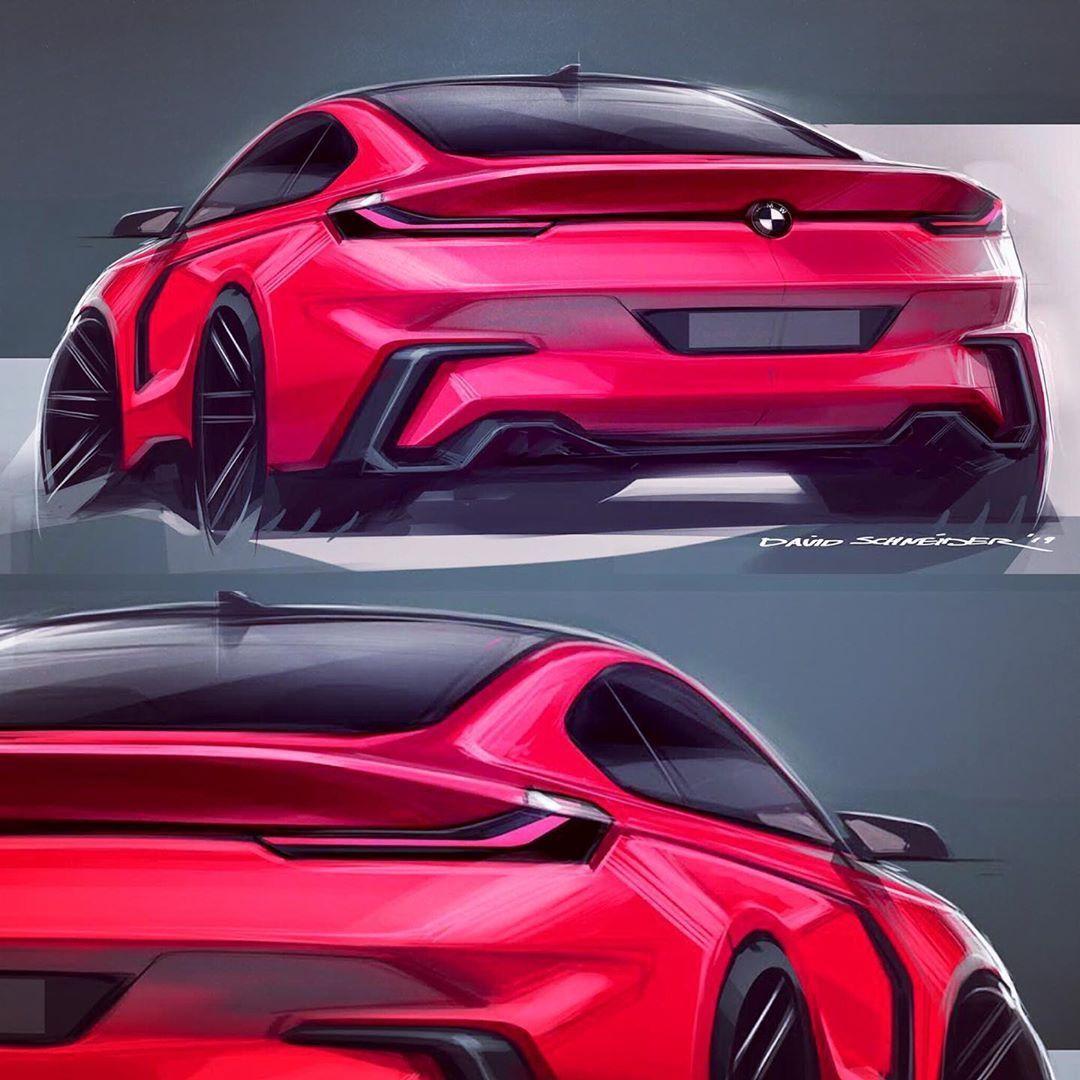 "David Schneider on Instagram: ""The rear! #bmw #mpower #desig...-David Schneider on Instagram: ""The rear! #bmw #mpower #designsketch #cardesign #redcar #germancars #sportscar #coupe #photoshop #transportationdesign #sketchaday…""  David Schneider on Instagram: ""The rear! #bmw #mpower #designsketch #cardesign #redcar   -"