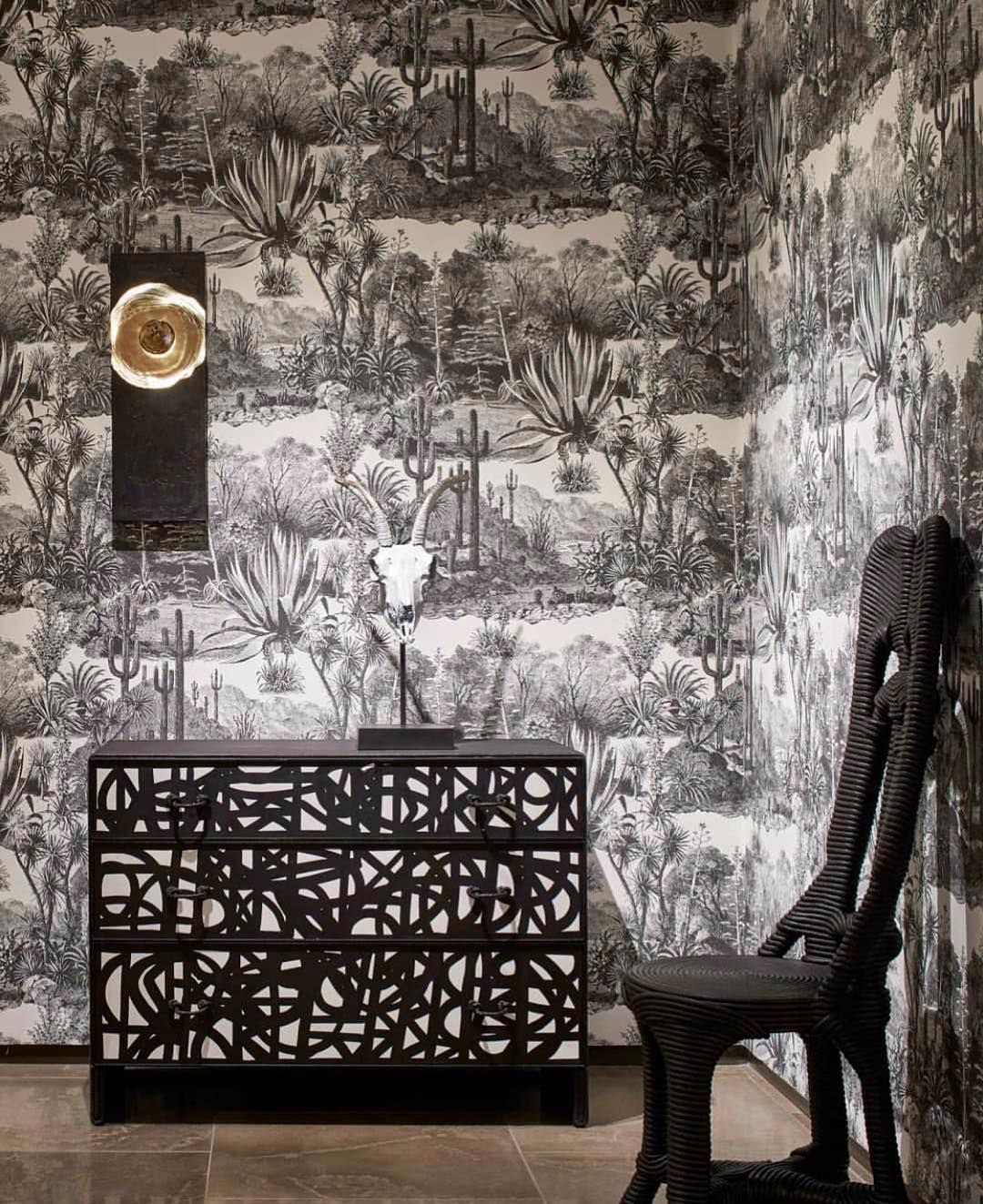 "La Apartments Cheap: La Maison Pierre Frey On Instagram: """"Pampa"" Wallpaper At"