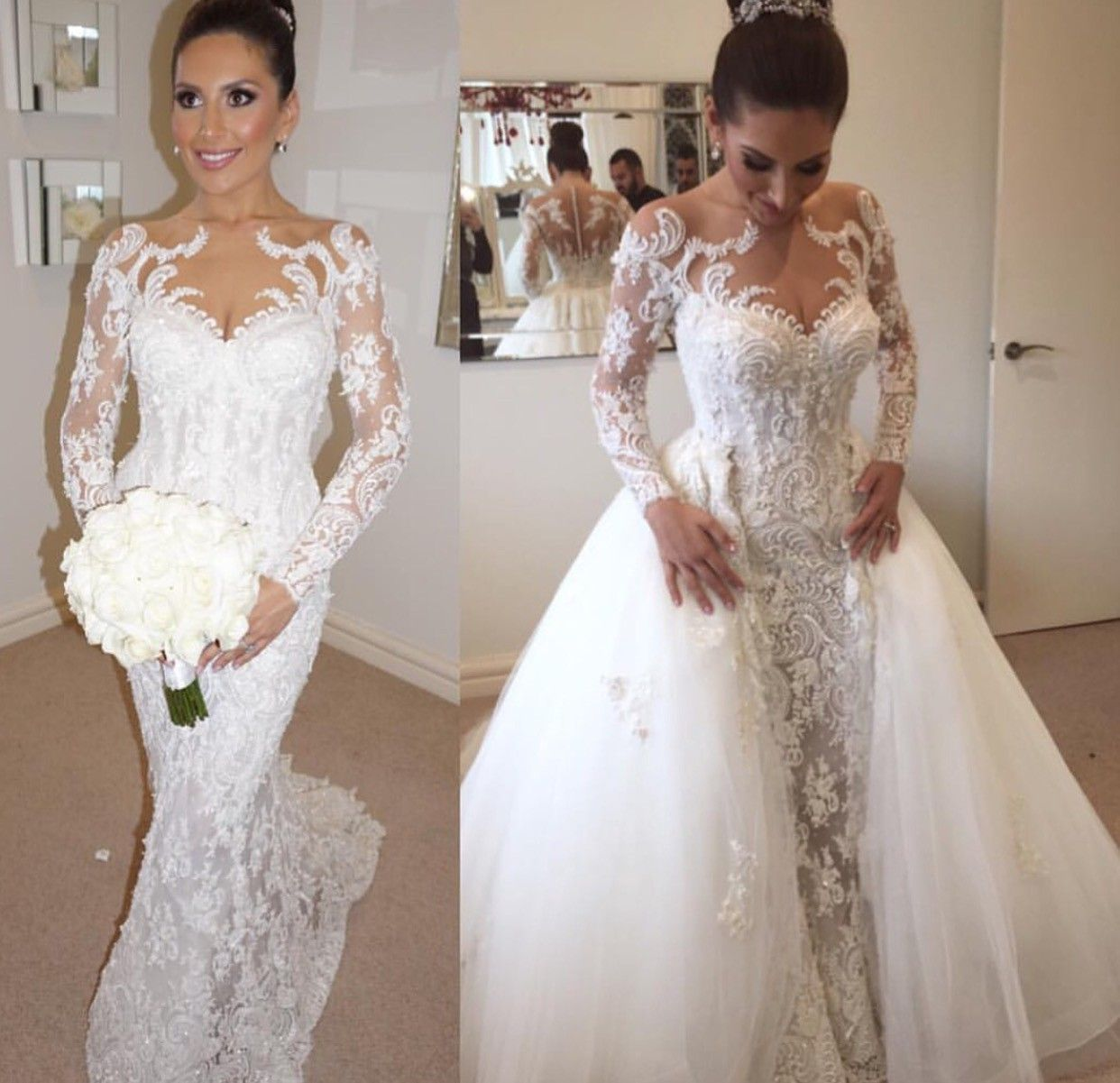 Steven Khalil Used Wedding Dress Save 50 Bridal Dresses Vintage Detachable Train Wedding Dress Wedding Dress Train