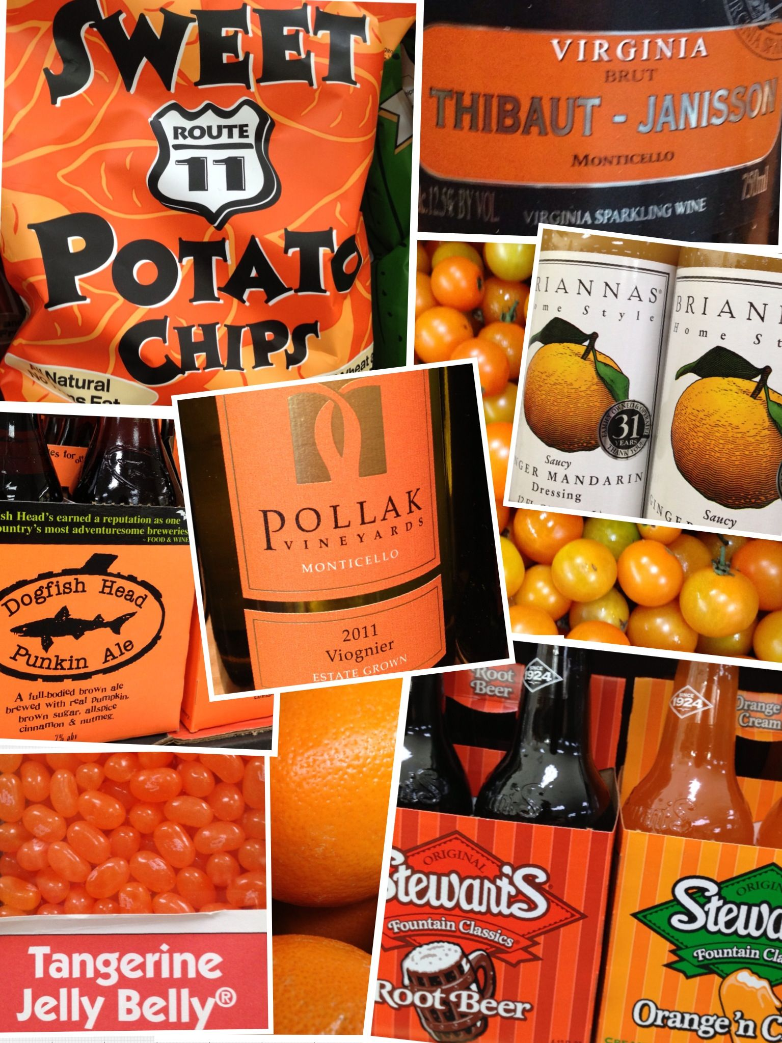 If you're in town for a sporting event, grab orange tailgating supplies from