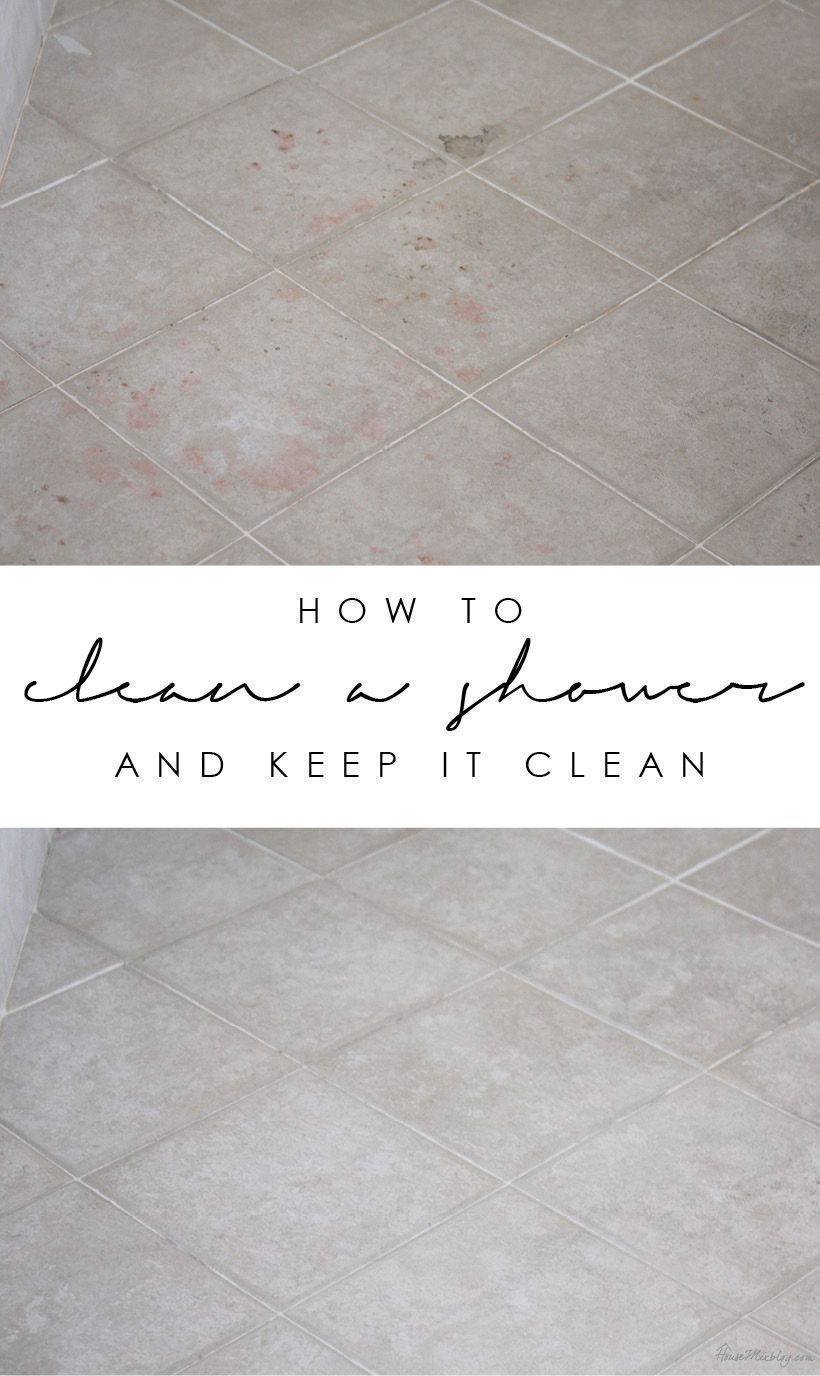 best ways to clean a shower and keep it clean  Shower cleaning
