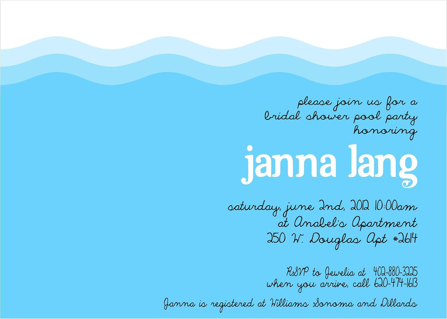 Like this item shower pinterest pool party invitations party like this item filmwisefo