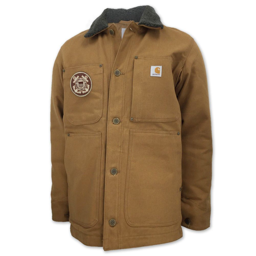 Cold Weather Is No Match For This Great Coast Guard Carhartt Full
