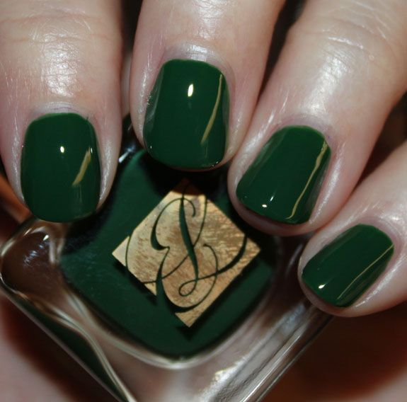 Estee Lauder Wicked Green (Orly Wandering Vine as dupe?) | Nail Art ...