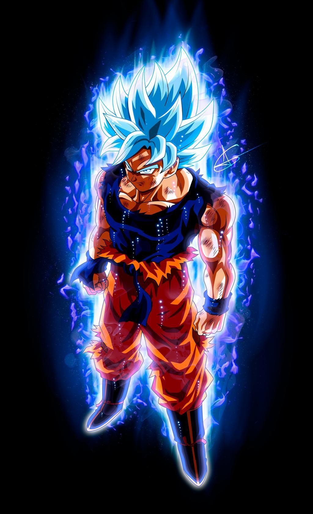Goku Ultra Instinct Ssj Blue By Arlesonlui On Deviantart Goku Super Saiyan God Dragon Ball Art Goku Dragon Ball Super Manga
