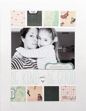 Nicole Reaves: Good way to use up scraps