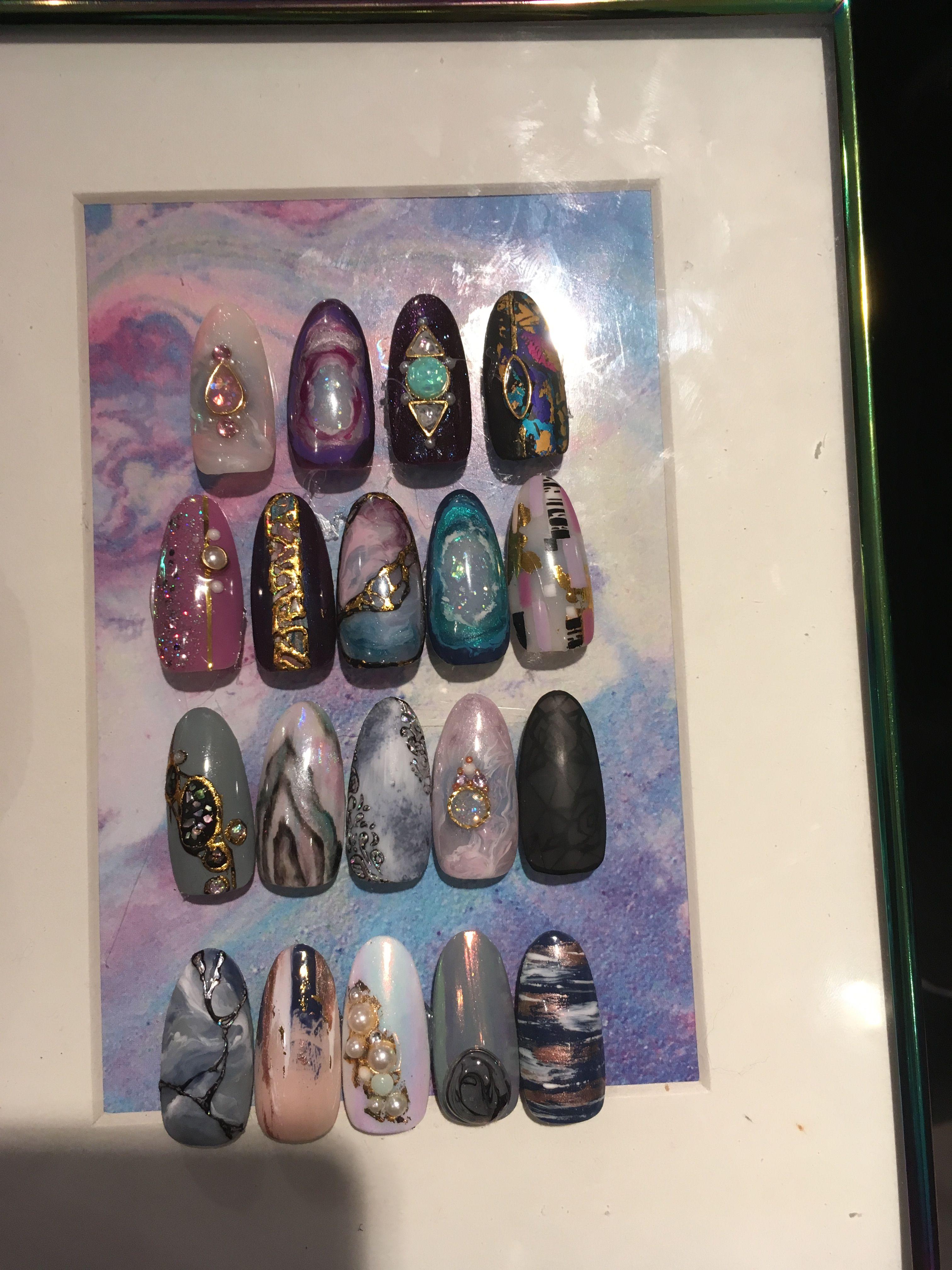 Wildflowers Nails Amethyst Geode Nails | Nail Polish Love ...