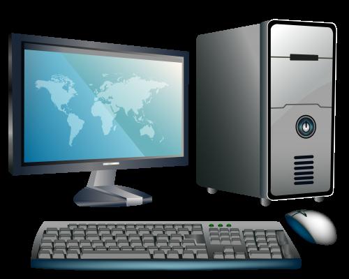 Desktop Computer Png Clipart Computer Clip Art Electric Image