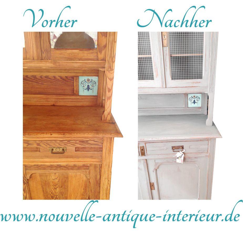 möbel streichen, shabby chic möbel sellber machen: bei www.nouvelle