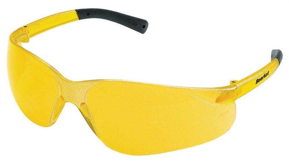 Details about crews bearkat safety glasses amber lens