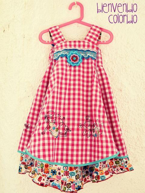 bienvenido colorido feliz fleiz dress pinterest farbenmix niedliche kleider und. Black Bedroom Furniture Sets. Home Design Ideas