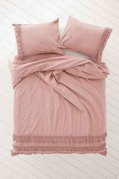 Magical Thinking Net Tassel Duvet Cover Bedroom Makeover Home Bedroom Duvet Covers Urban Outfitters