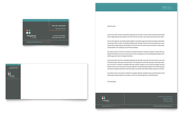 Janitorial  Office Cleaning Business Card  Letterhead Template