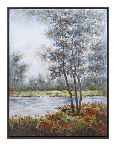 Alluring Natural Creation Framed Oil Painting