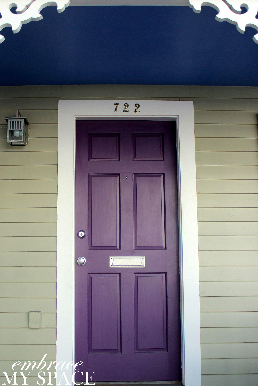 Embrace My Space Key West Front Doors #purple #front #door & Embrace My Space: Key West Front Doors #purple #front #door | Come ...