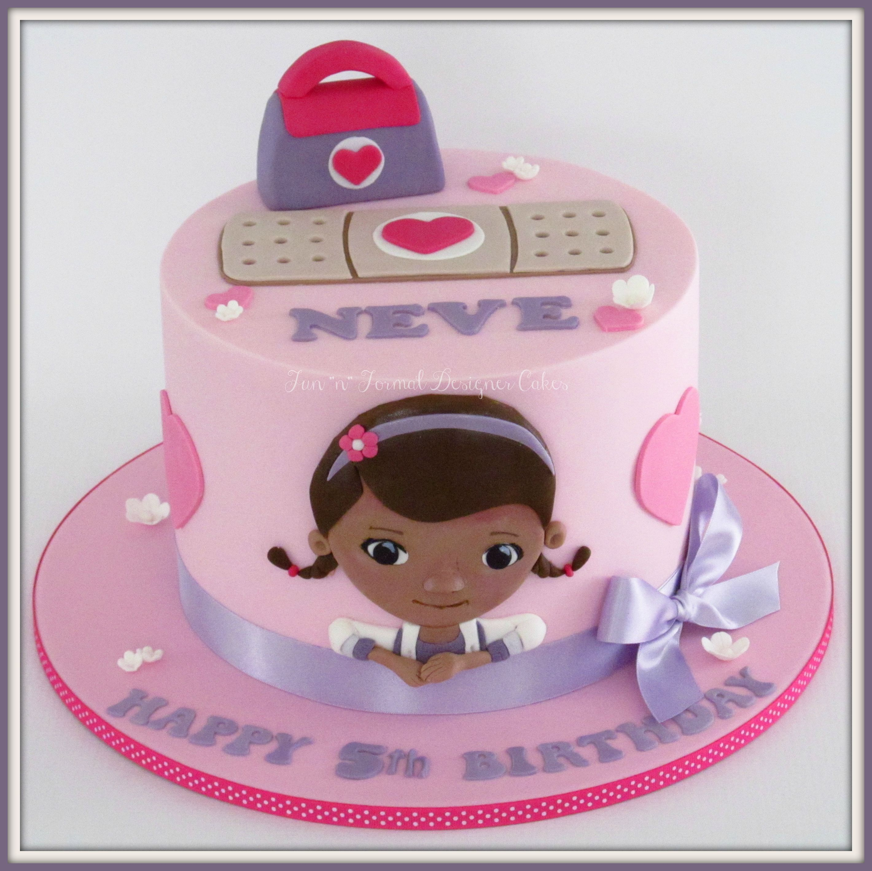 How To Make Doc Mcstuffins Cake Topper