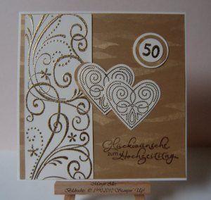 goldene hochzeit 1 karten basteln pinterest goldene hochzeit karten hochzeit und karten. Black Bedroom Furniture Sets. Home Design Ideas