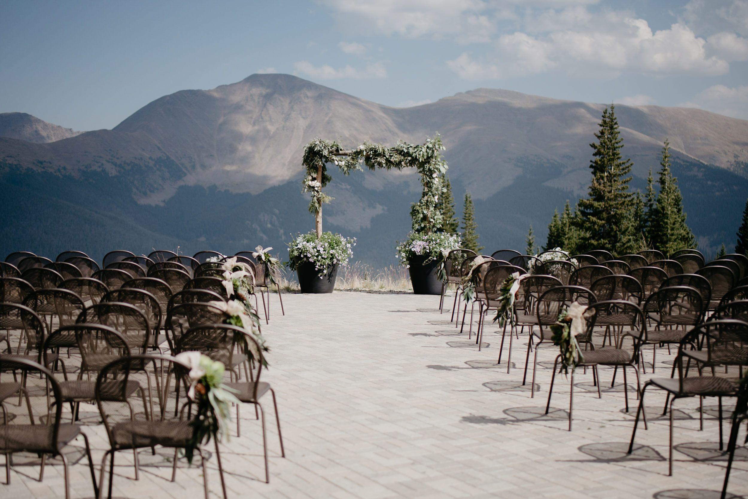 Post Winter mountain wedding, Mountain wedding colorado