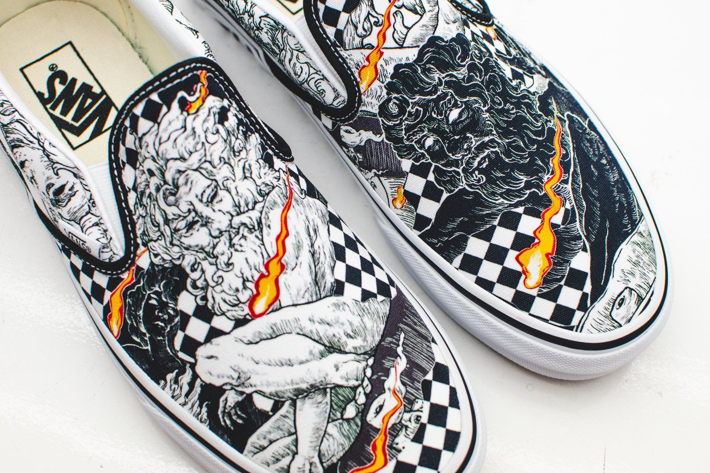 Art meets kicks: Vans X Nikko Pelaez