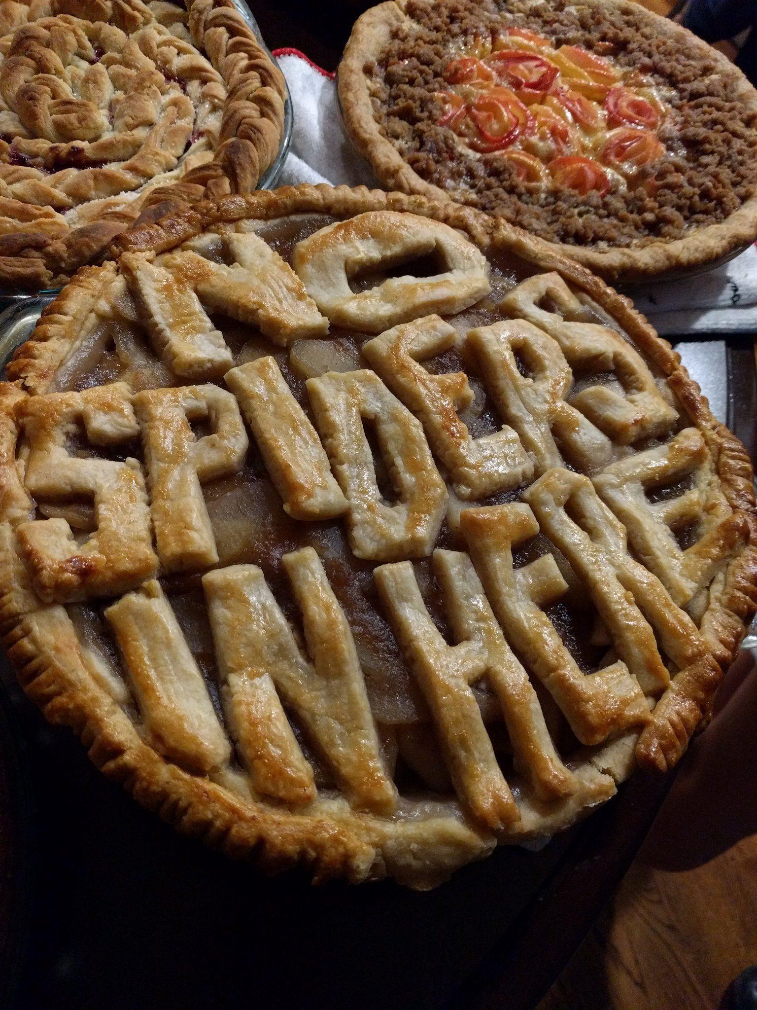 David on twitter apple pie food pie