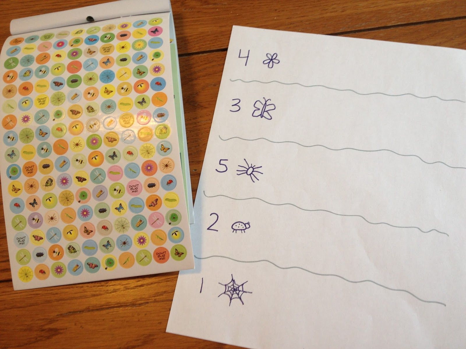Rainbow Math Worksheet