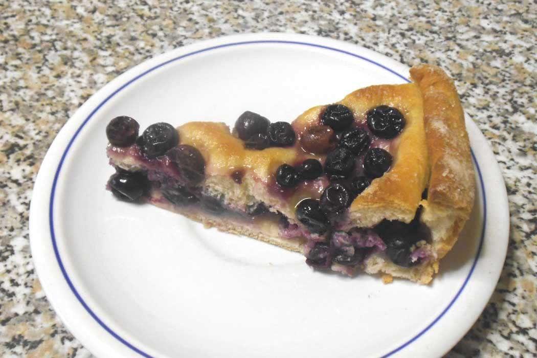 La schiacciata con l'uva è il tipico dolce autunnale toscano. Preparata nel periodo della vendemmia con pasta di pane, uva nera canaiola, olio e zucchero.