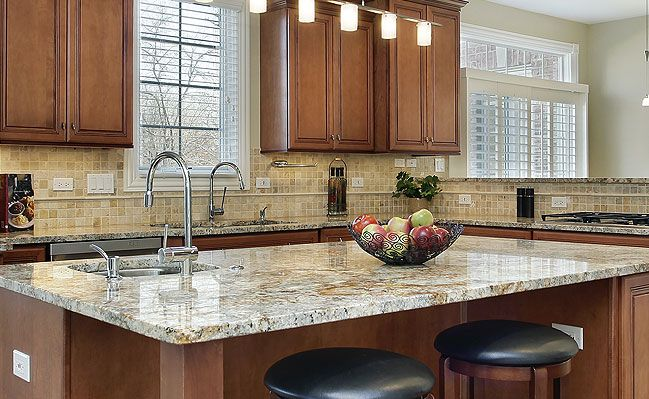 50+ TRAVERTINE Tile Backsplash Photos (Tile Designs, Tips