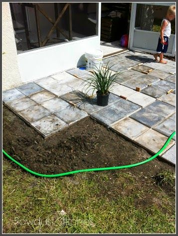 Have you wanted create a beautiful backyard patio, but the cost was a hindrance? Well, I have been there, and this is what I did. It's no small secret that I would prefer to work on INTERIOR home decor, BUT my Sister is a talented horticulture landscaper and gave me the push I needed!  Here was my problem, but it had potential. Let the brainstorming begin! I found that I kept gravitating towards this style stone:  Pretty sure [Continue Reading]