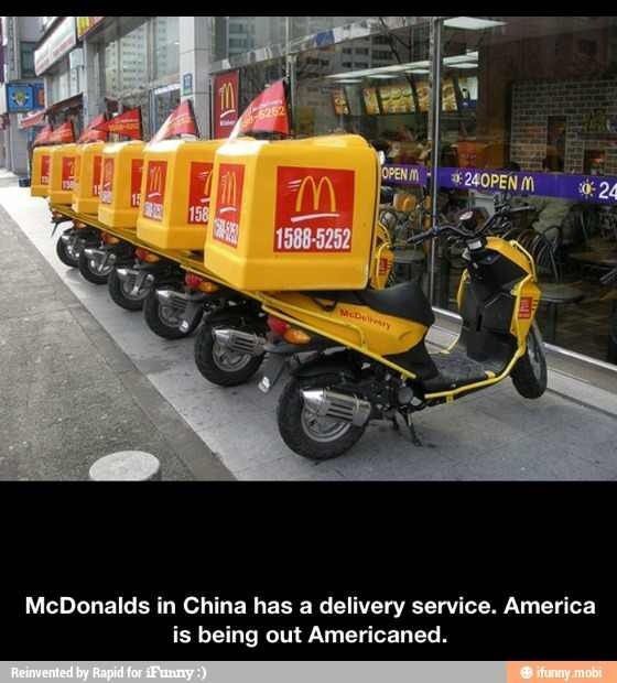 McDonalds Delivers