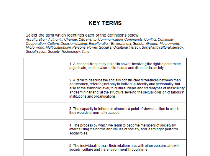 Dimensions of diversity concepts worksheet essays