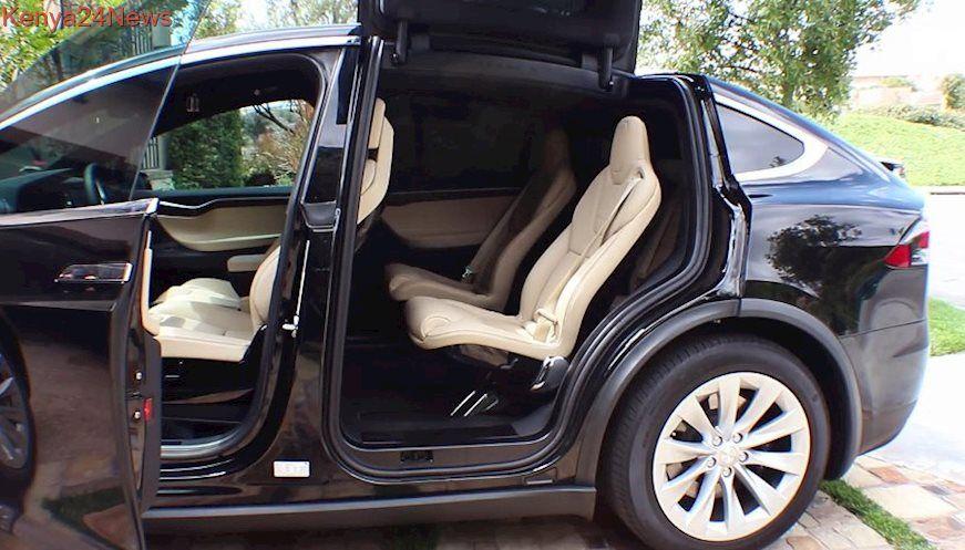 Tesla model  interior  exterior walkthrough also video pinterest rh