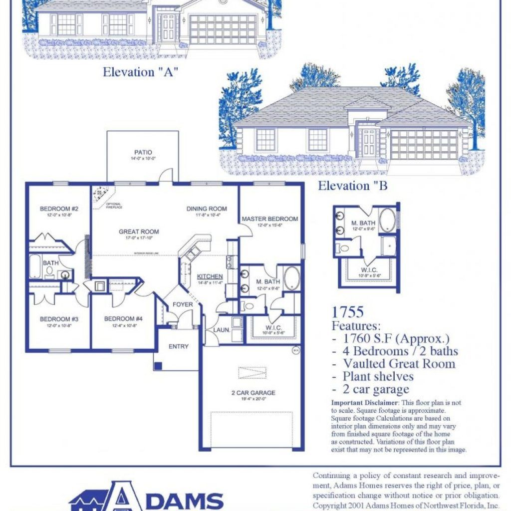 Adams Homes Floor Plans 1755 Adams Homes Floor Plans House Floor Plans