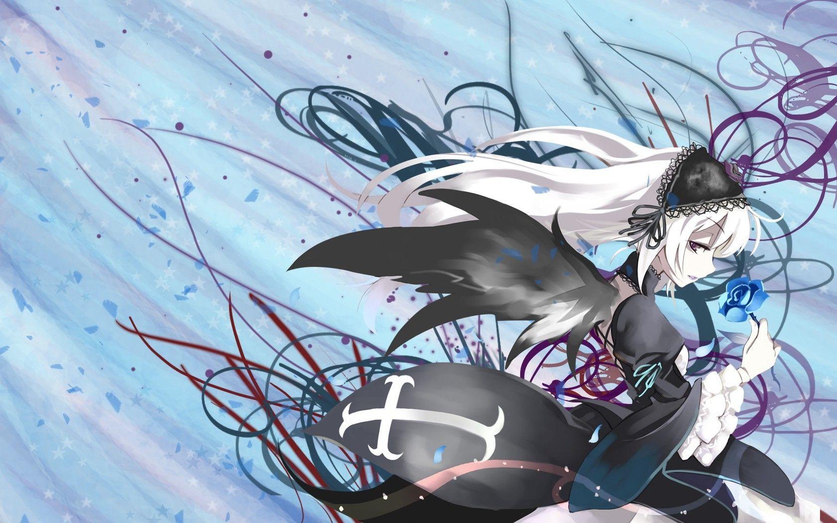 anime, Rozen Maiden, Suigintou Wallpaper   Anime, Desktop ...