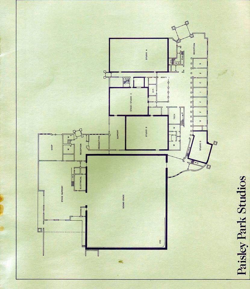 Paisley Park Floor Plans Prince Paisley Park Prince Paisley Park Studios Paisley Park