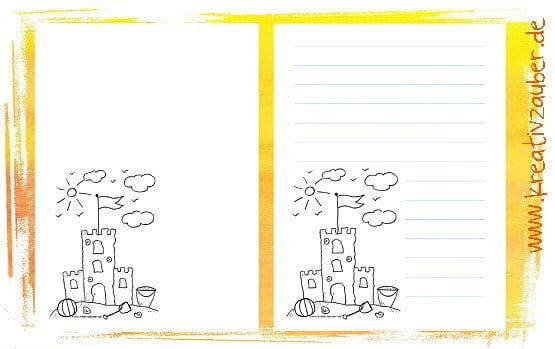 briefpapier für kinder kostenlos zum ausdrucken