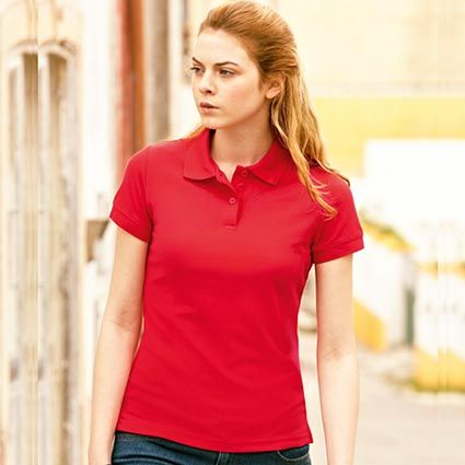 0b22d865a36 Fruit of the Loom Lady Fit Polo Shirts
