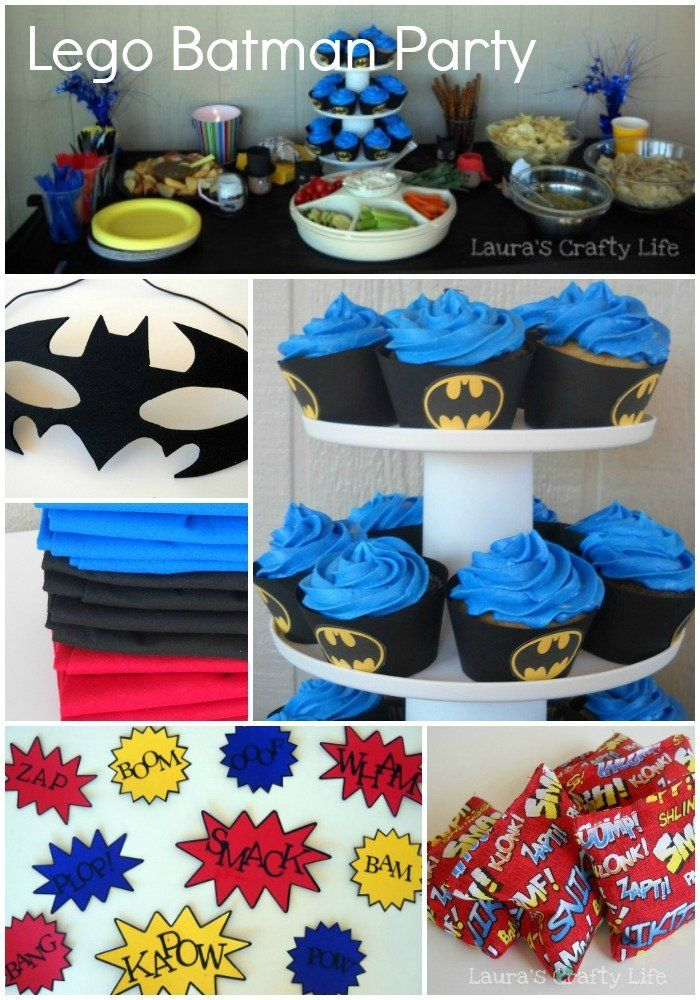 Batman Party Decorations And Crafts Batman Party In 2019