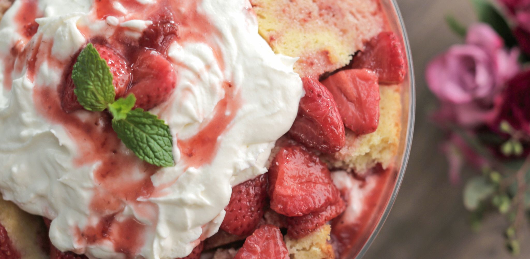 Check out Strawberry Shortcake Trifle Itus so easy to make