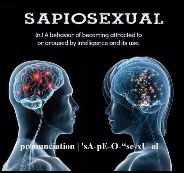 What is the opposite of sapiosexual
