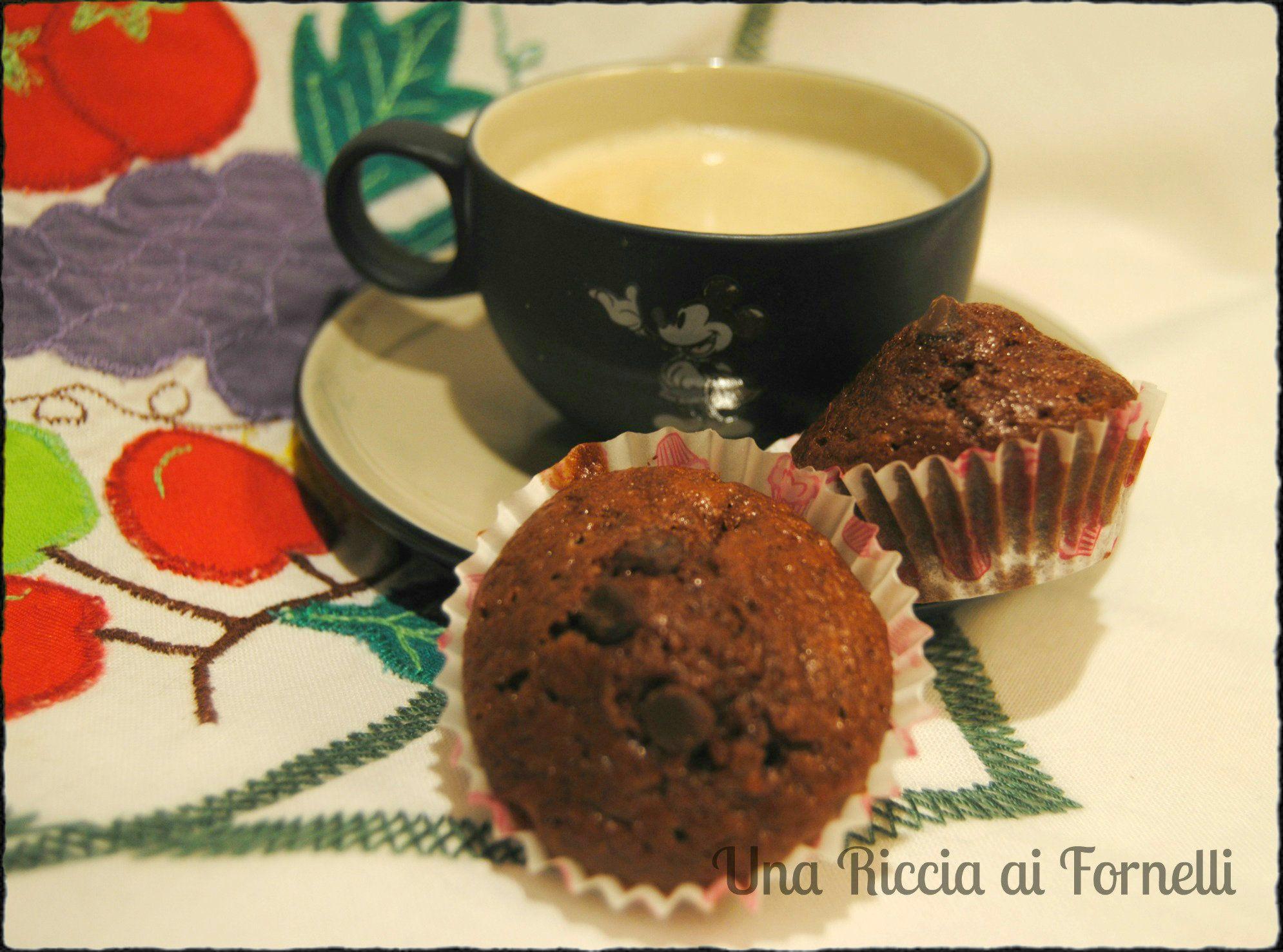 Mini muffin al cioccolato, ricetta golosa