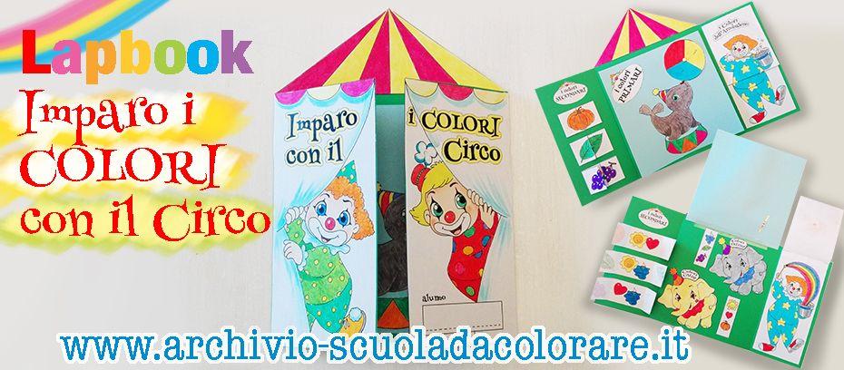 Lapbook Sui Colori 儿童绘画 Pinterest