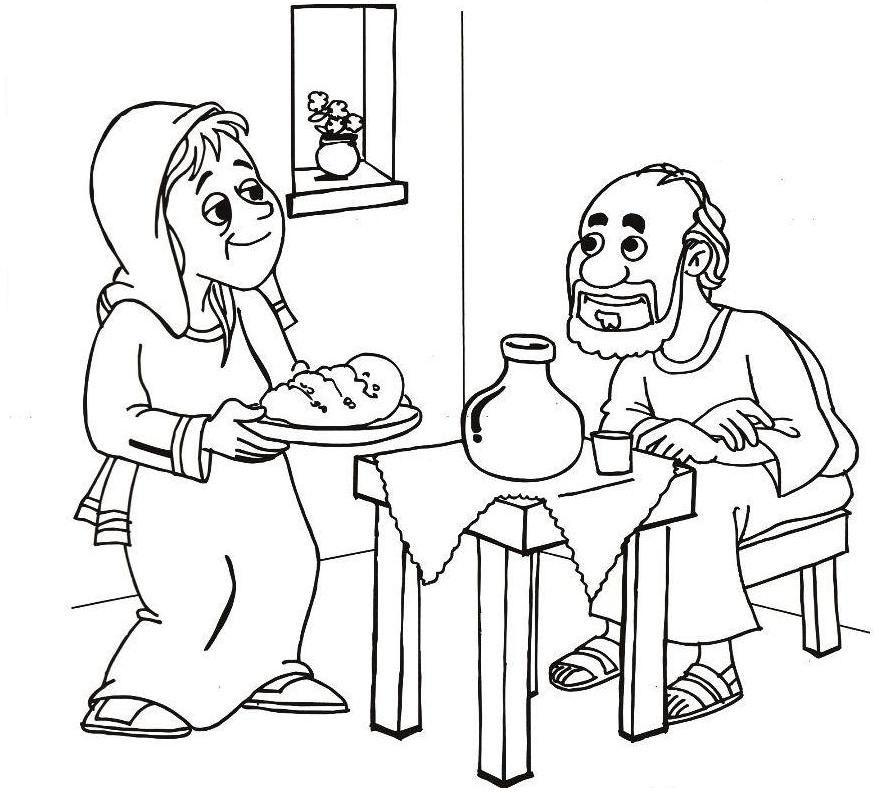 Elia Profeta 29 Jpg 879 793 Elijah And The Widow Sunday