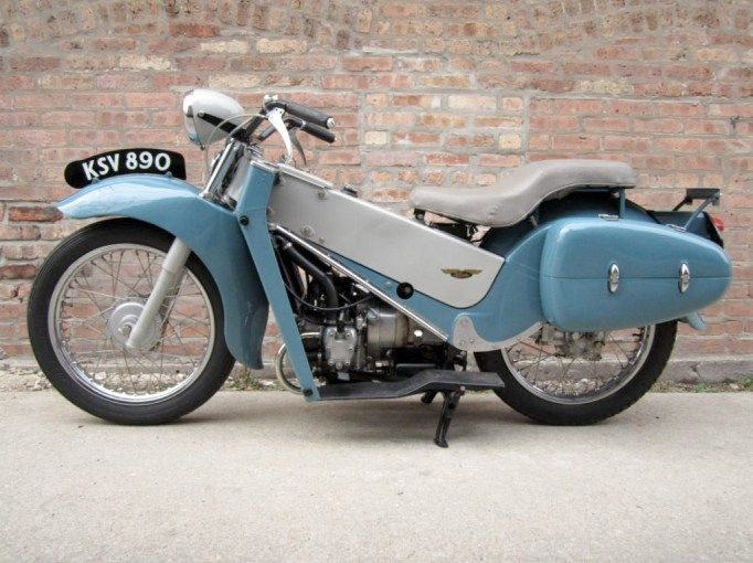 1957 Velocette Le 200 Ebay Sale Vintage Bikes Classic Motorcycles Old Motorcycles