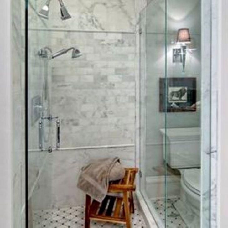 Komfortables Badezimmer Design Ideen begehbarer Dusche