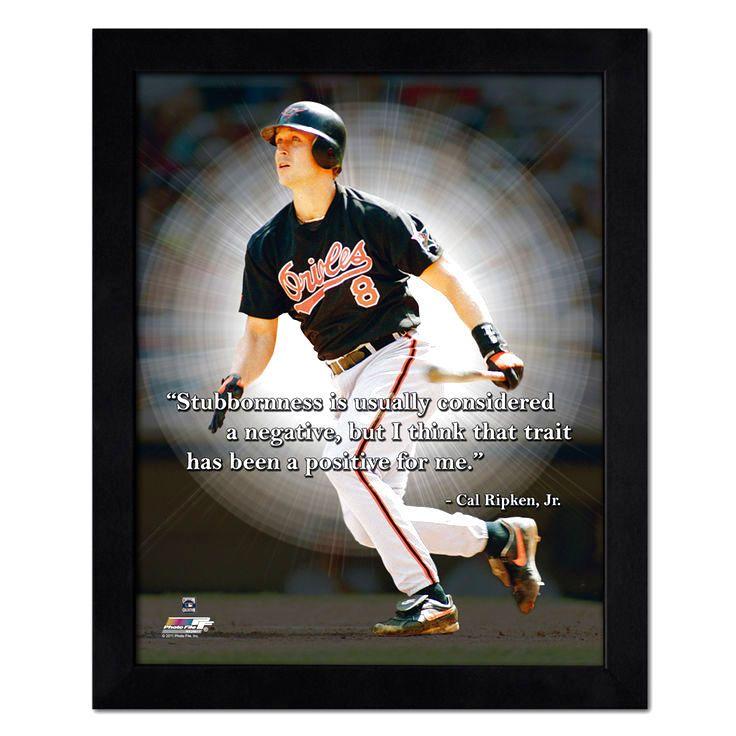 "Cal Ripken Jr. Baltimore Orioles 18"" x 22"" ProQuote Photo - $55.99"