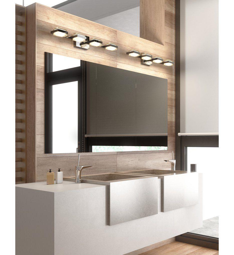 Photo of Tech Lighting – 700BCKMD4C-LED930 Kamden Chrome 8 Light 120 Volt Bath Vanity