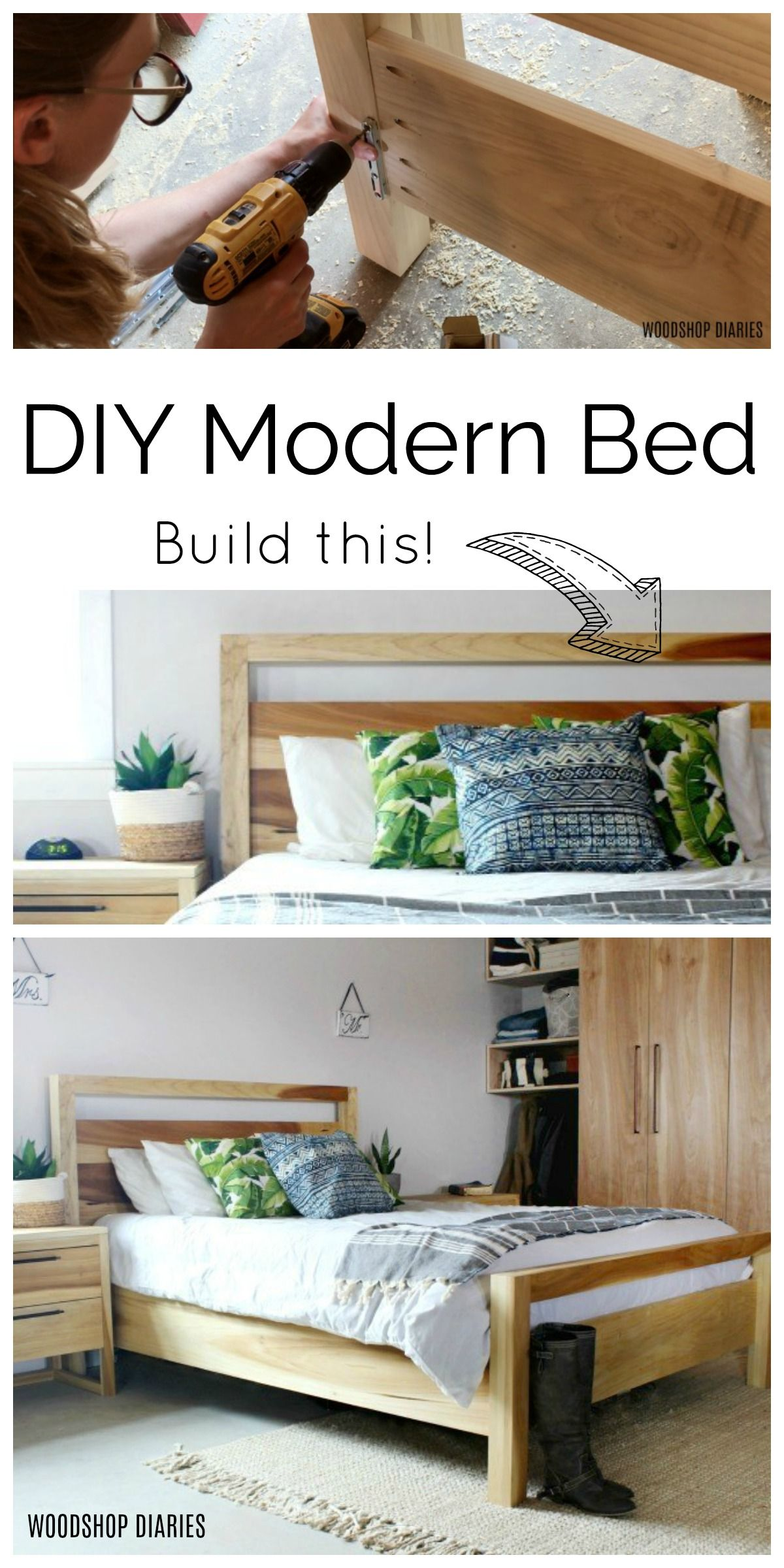 Photo of How to Build a DIY Modern Bed
